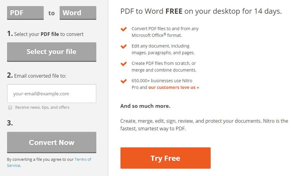love pdf to word